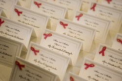 alexis & matt's place cards