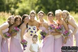melissa & her bridesmaids