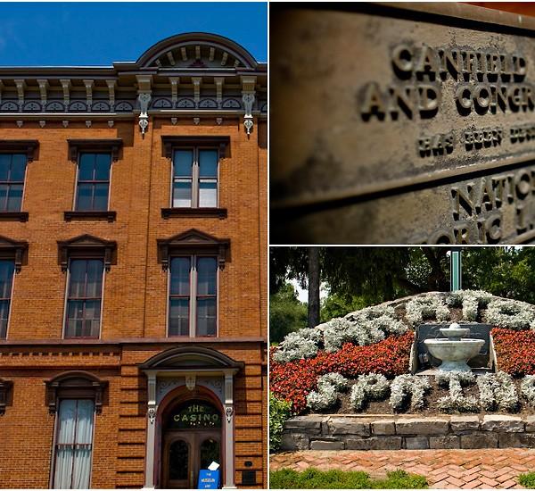lindsay & john: canfield casino
