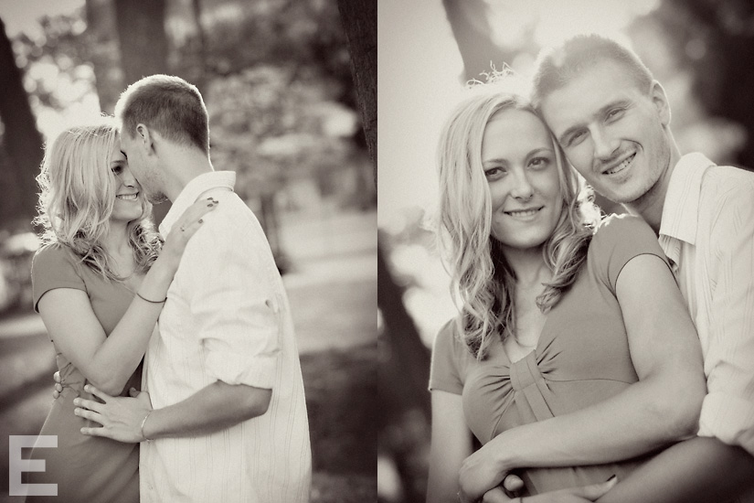andrea & matt: engagement shoot