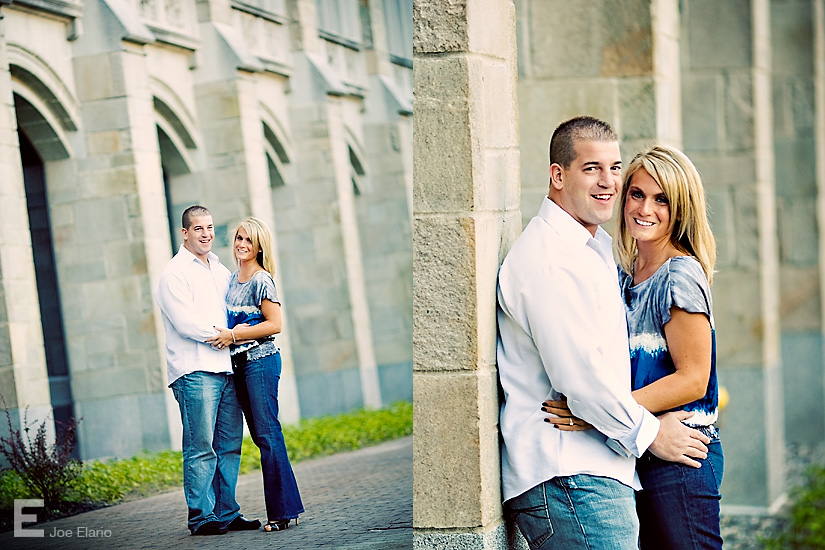 tracy & matt: engagement shoot