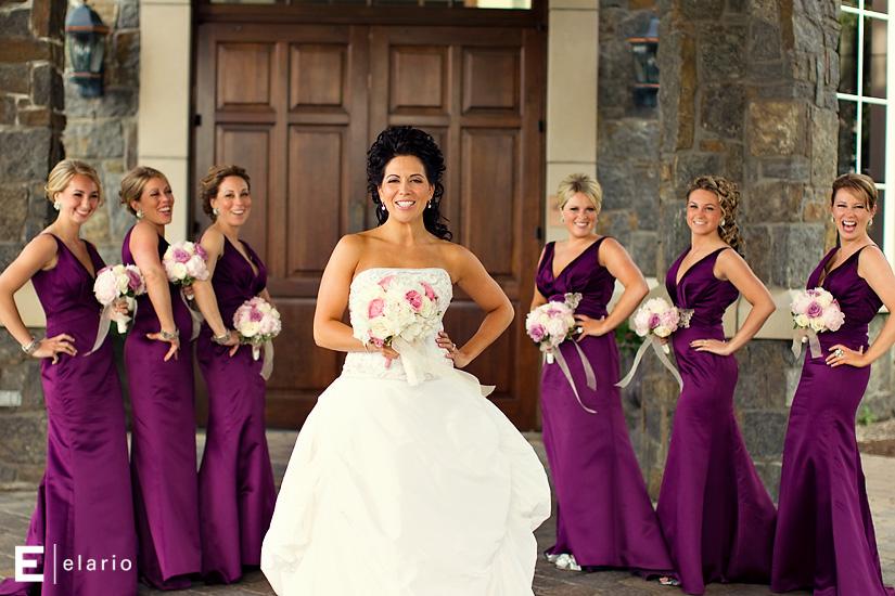 Одинаковые платья на свадьбу для подружек невесты фото