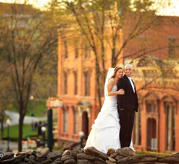 meghan & curtis: canfield casino