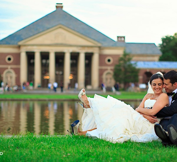 melissa & cory: hall of springs
