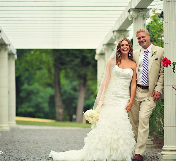 stephanie & rob: saratoga national golf club