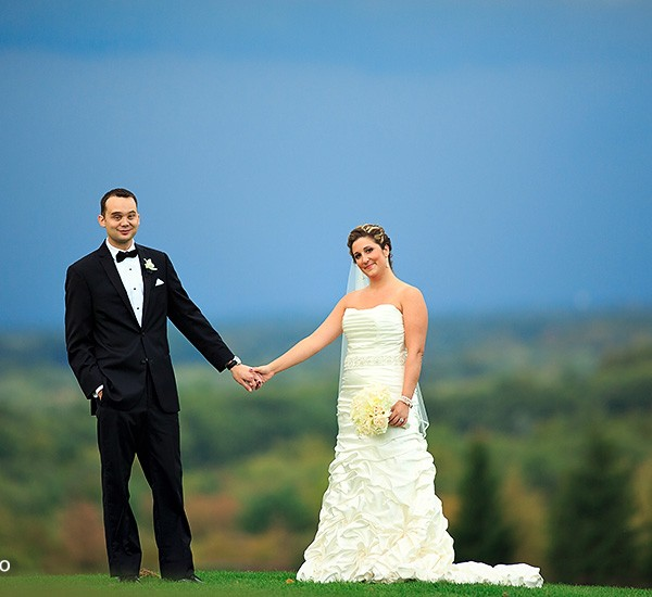 stacey & matt: albany country club
