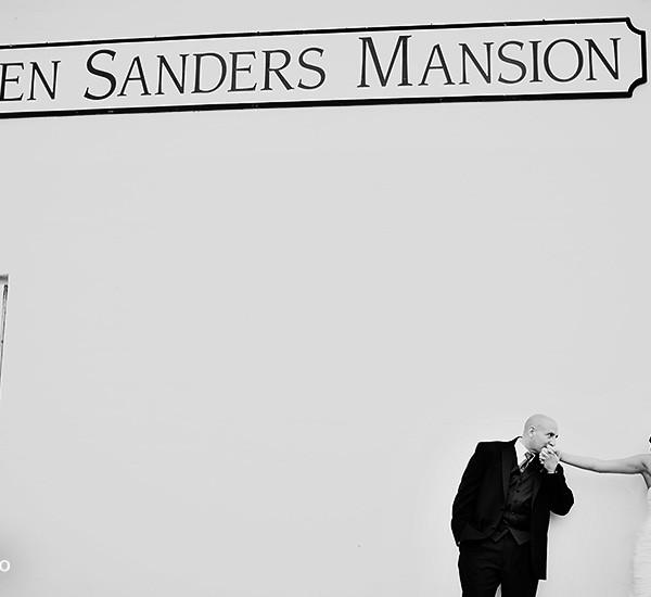 christine & tom: glen sanders mansion