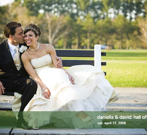 daniella & david's hall of springs wedding