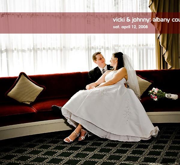 vicki & johnny's albany country club wedding
