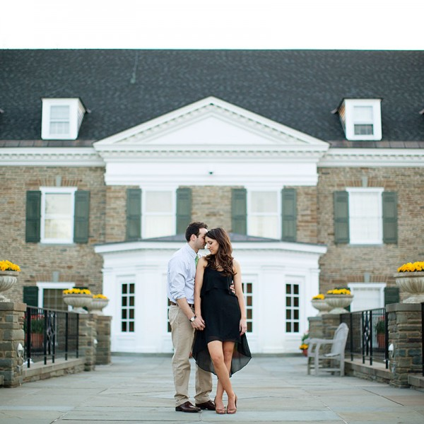 meredith & nick's fenimore art museum engagement photos
