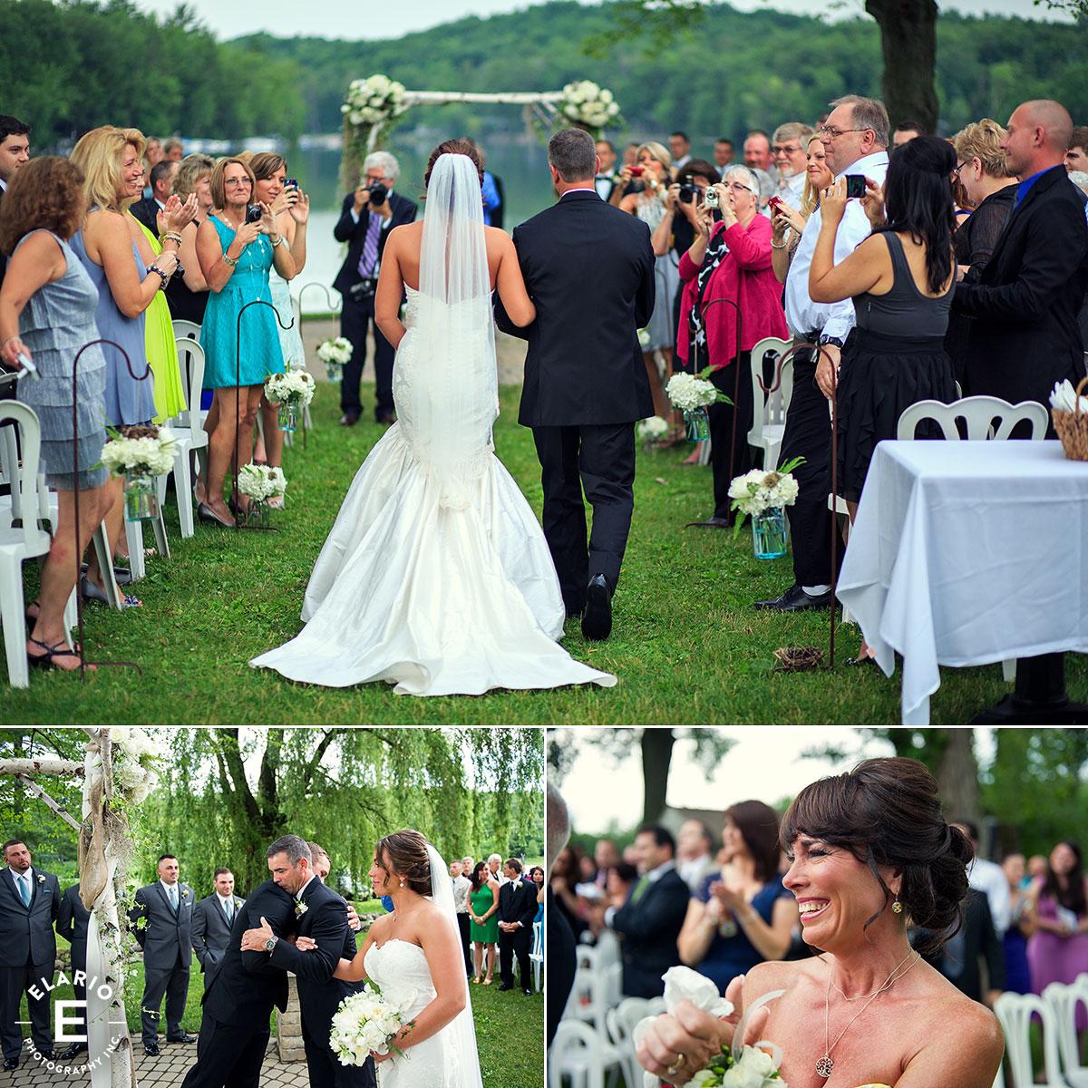 Crooked Lake House Wedding Photos