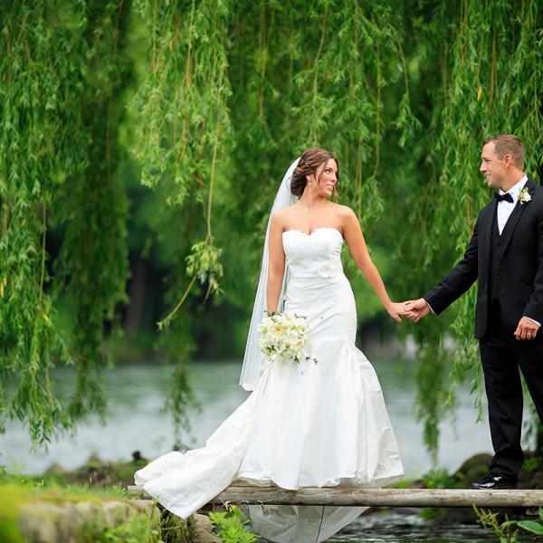 Jessica & Tim's Crooked Lake House Wedding Photos