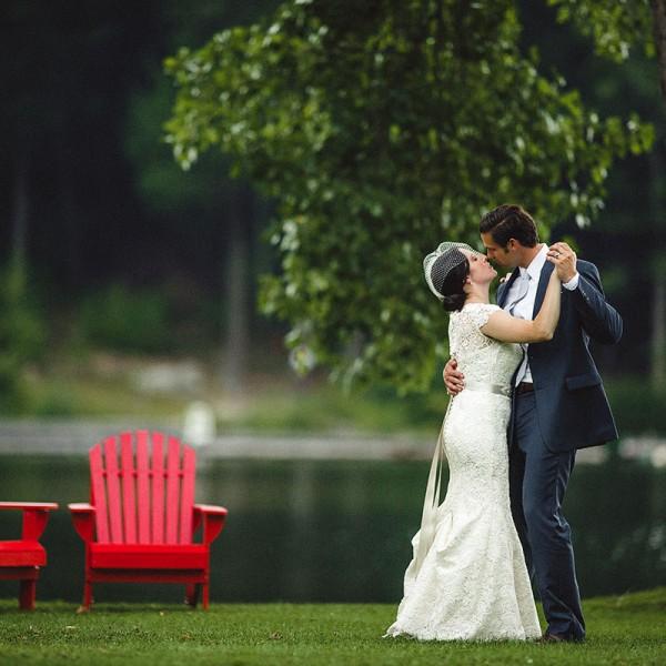 Alaina & Jared's Crooked Lake House Wedding Photos