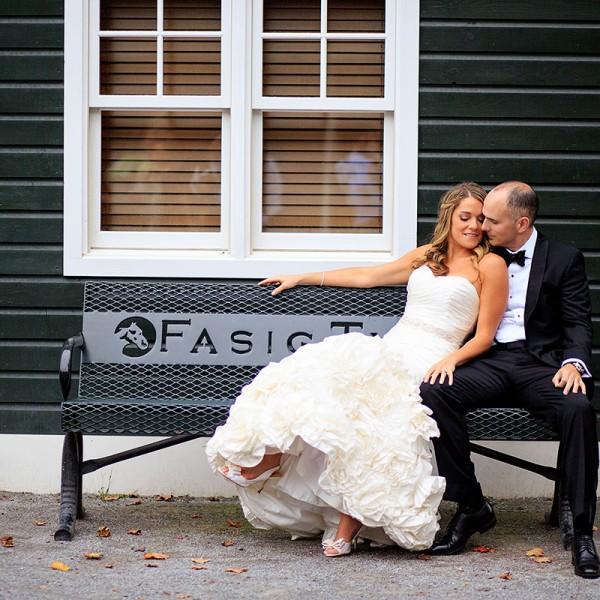 Kate & Tim's Fasig Tipton Wedding Photos