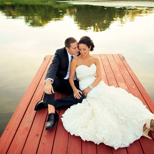 Erica & Andy's Glen Sanders Mansion Wedding Photos