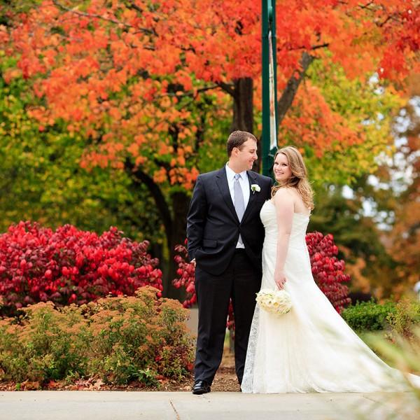 Lisa & Robert's Glen Sanders Mansion Wedding Photos