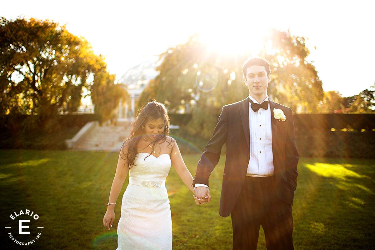 New York Botanical Garden Wedding Photos | Emily & Jeremy