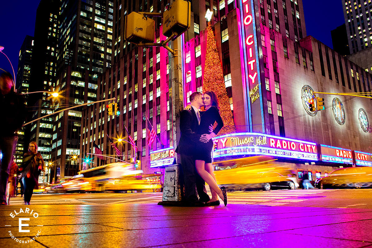 New York City Engagement Photos Lauren John