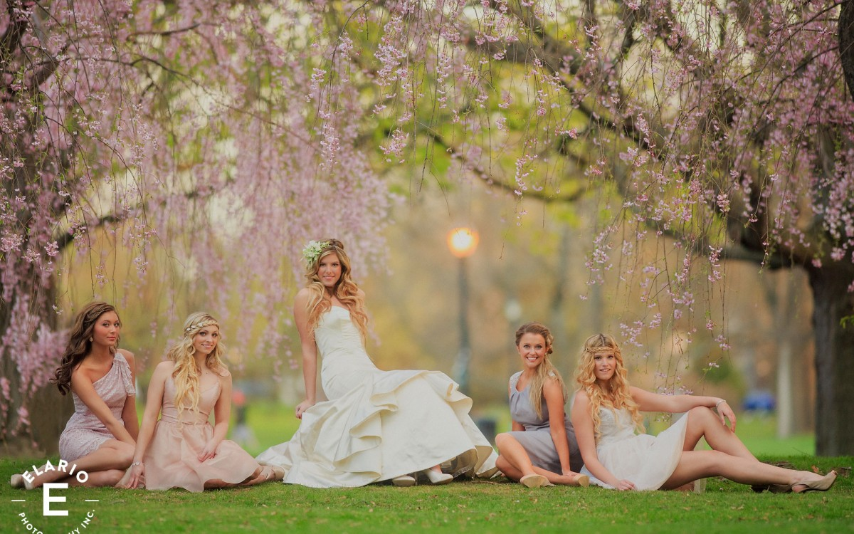 Spring is here with Angela's Bridal!