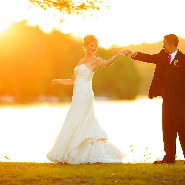Lindsay & Matt's Crooked Lake House Wedding Photos