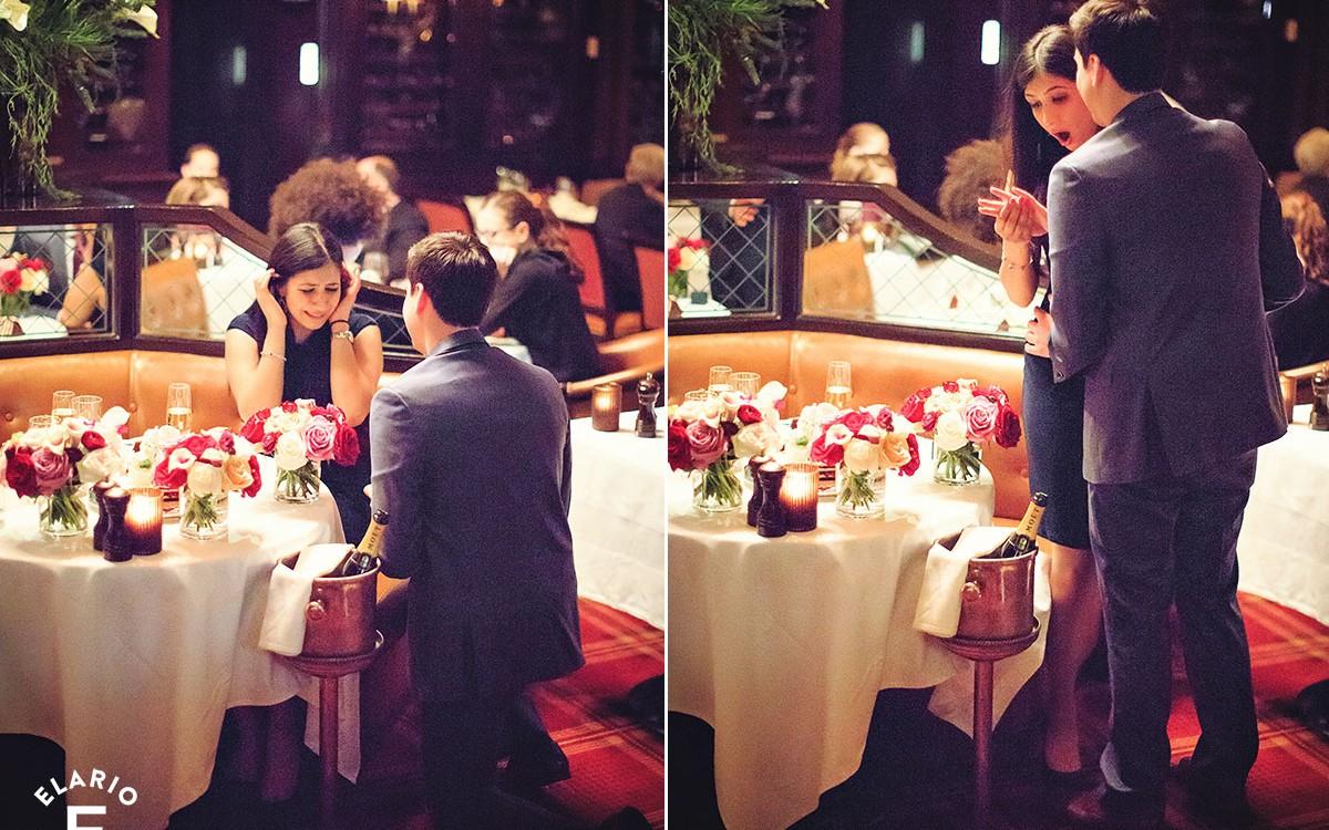 Mikey & Sana's NYC Surprise Proposal Photos