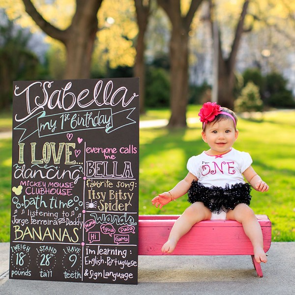 Isabella Turns One!