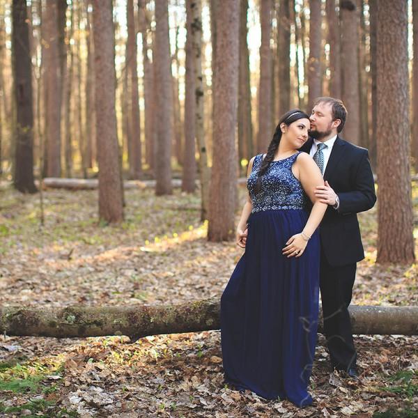 Angela & Rob's Saratoga Springs Engagement Photos