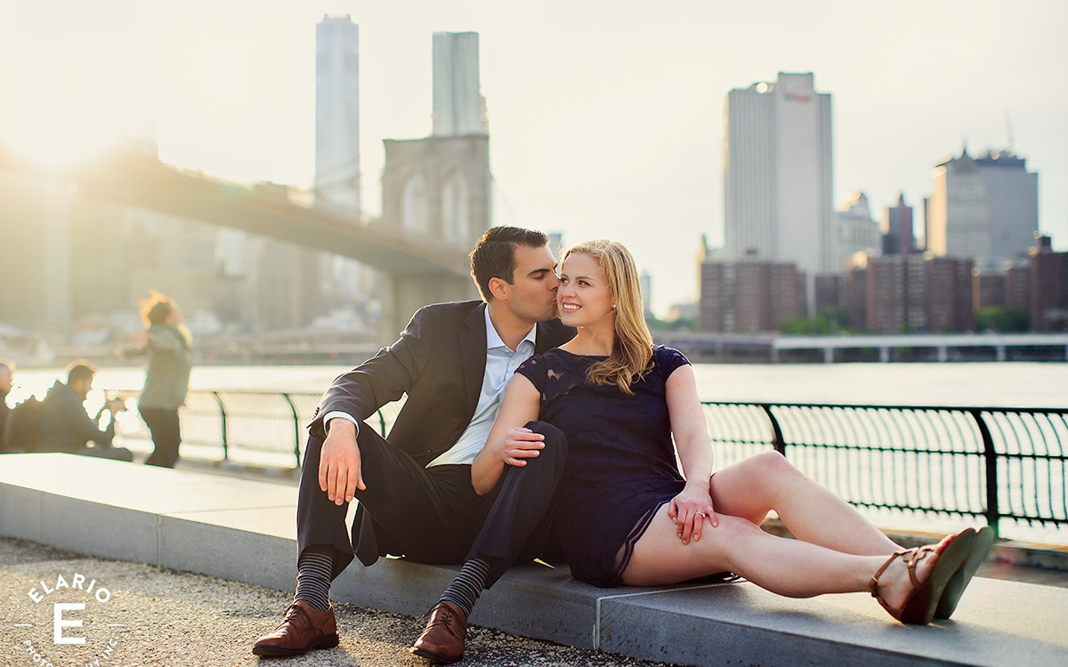 Ashley & Mike's NYC Engagement Photos