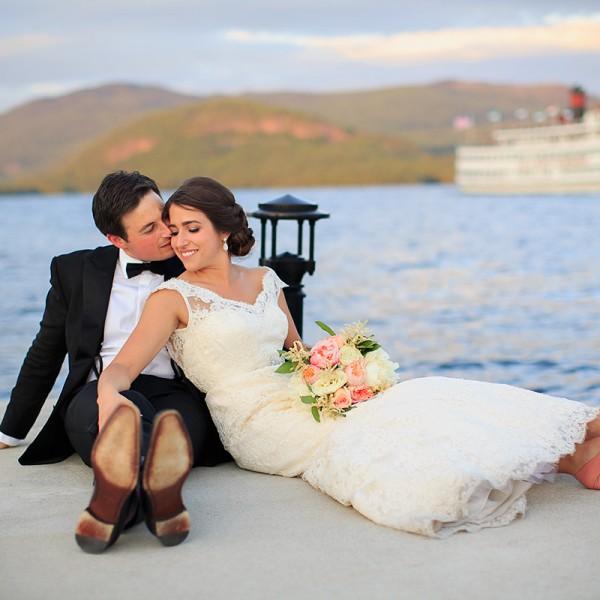 Amanda & Bennett's Sagamore Wedding Photos