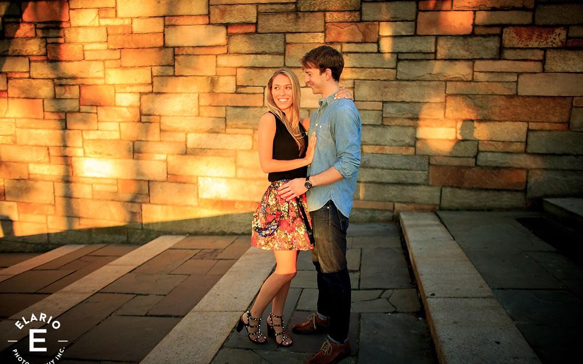 Jessica & Evan's NYC Engagement Photos