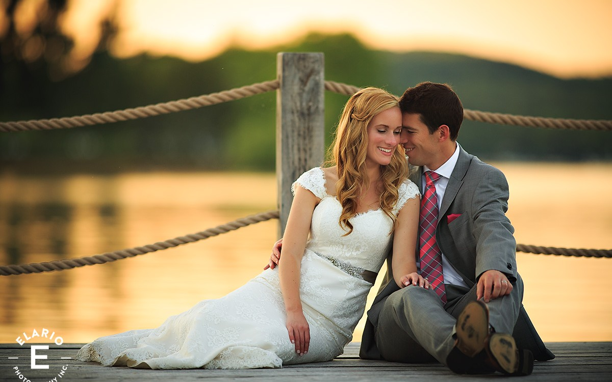 Colleen & Carson's Otesaga Wedding Photos