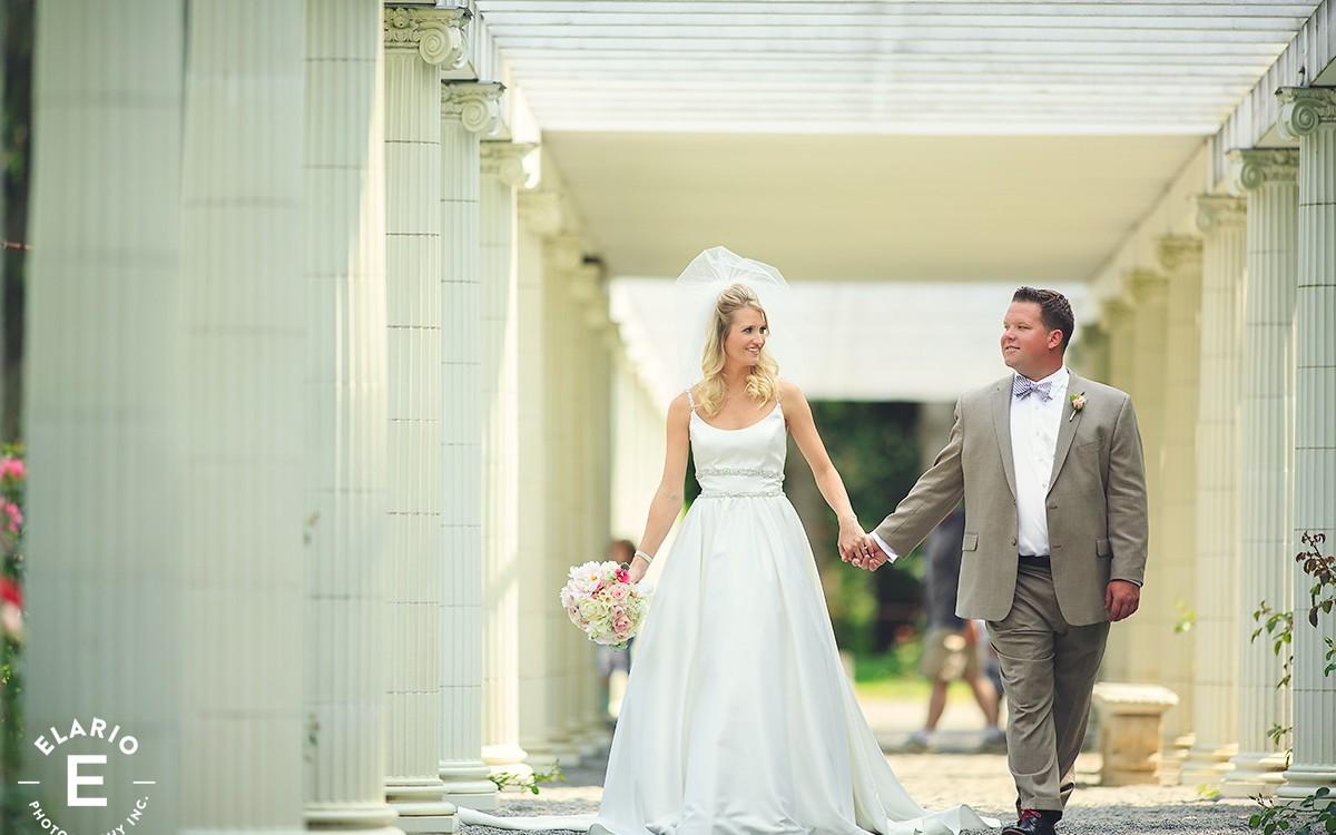 Allison & Eric's Saratoga Polo Wedding Photos