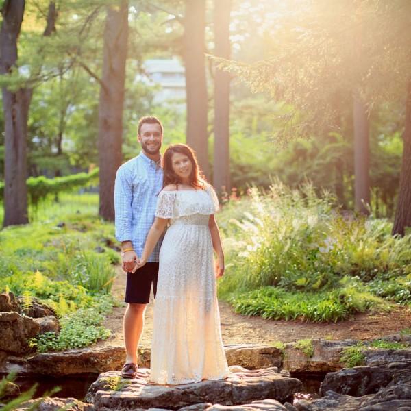 Justine & Joe's Saratoga Engagement Photos