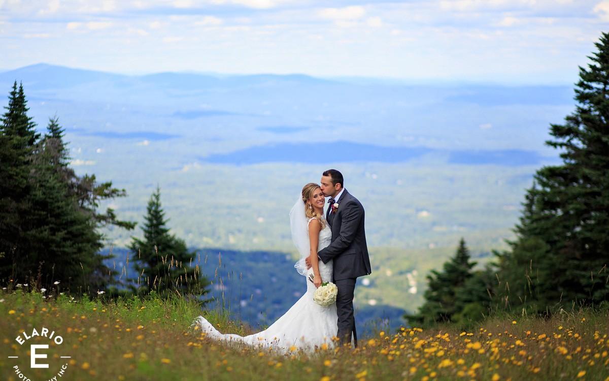 Laura & Anthony's Stratton Mountain Wedding Photos