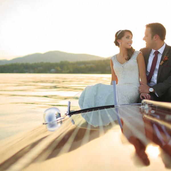 Samantha & Brian's Lake George Wedding