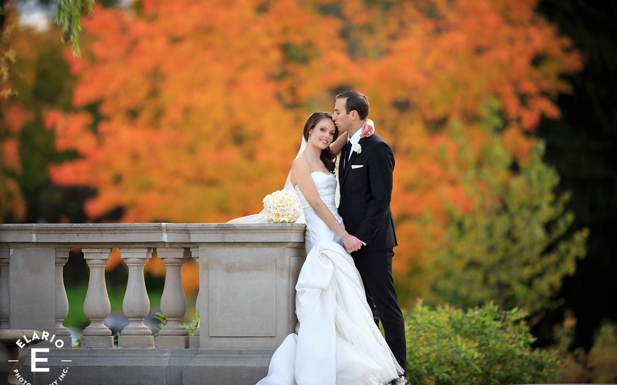Danielle & Ben's Canfield Casino Wedding Photos