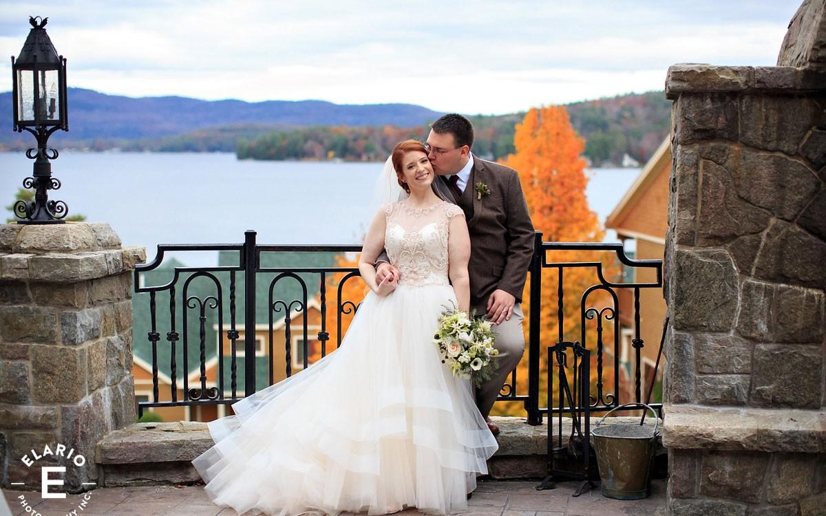 Melissa & Dan's Lake George Wedding Photos