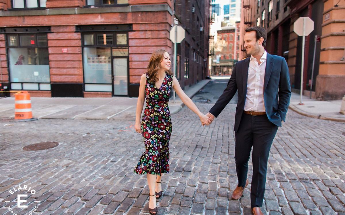 Kellie & Michael's New York City Engagement Photos