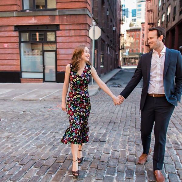 Kellie & Michael's New York City Engagement Photos