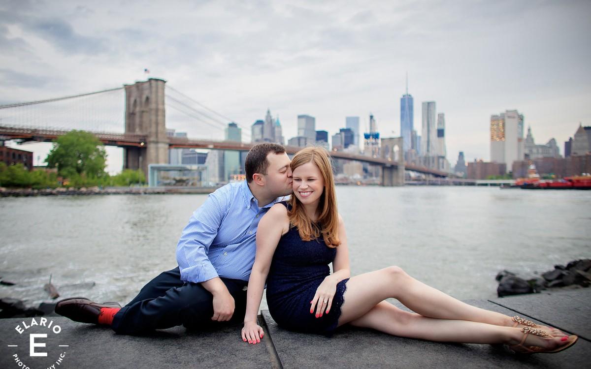 Andrea & Brad's Brooklyn Engagement Photos