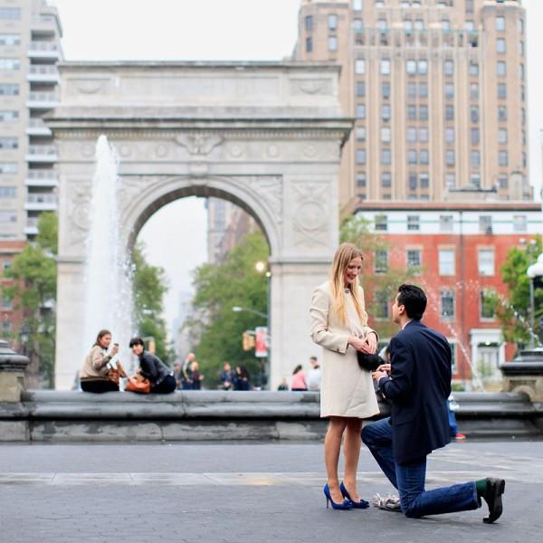 Monesh & Amanda's NYC Proposal Photos