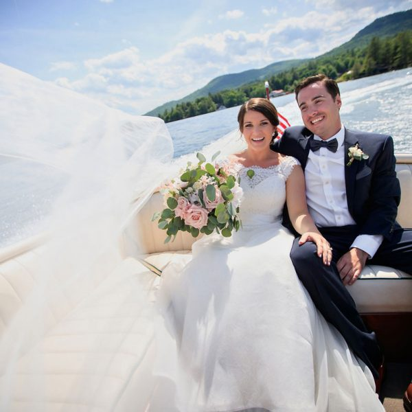 Julia & Jason's Lake George Wedding Photos