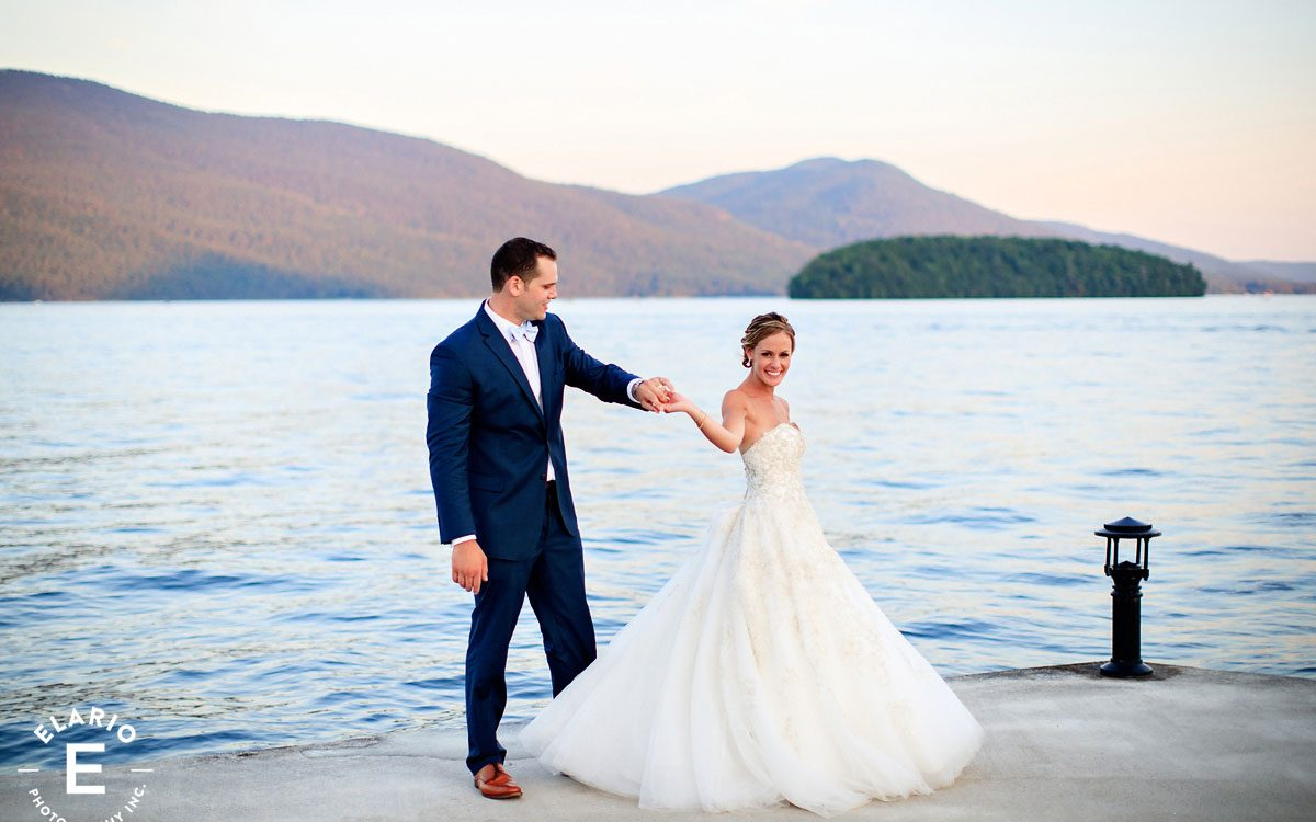 Tessa & Nate's Lake George Wedding Photos