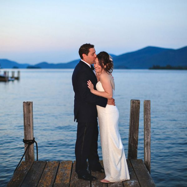 Jordyn & Greg's Lake George Wedding Photos