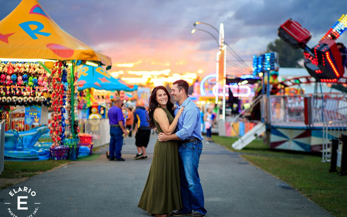 Becky & Carmine's Fair Engagement Photos