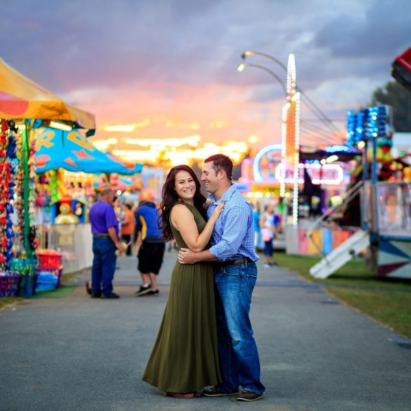 Becky & Carmine's Fair Engagement Photos