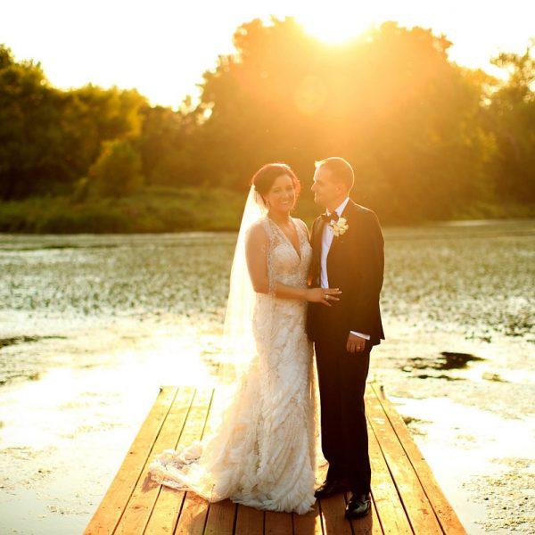 Danielle & Steve's Glen Sanders Mansion Wedding Photos