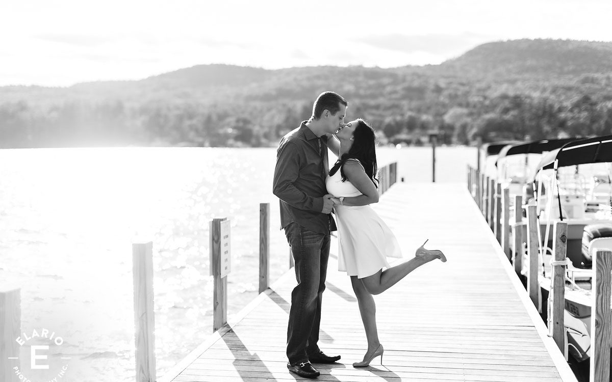 Jaclyn & Ron's Sagamore Engagement Photos