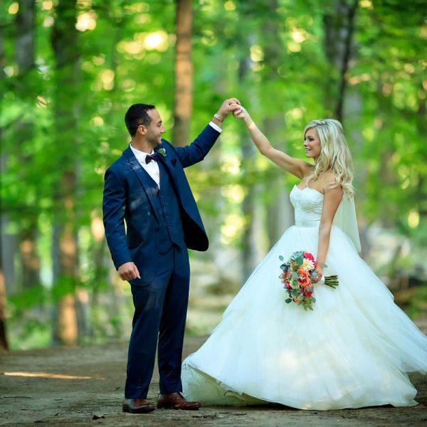 Britney & Nick's Saratoga Polo Wedding Photos