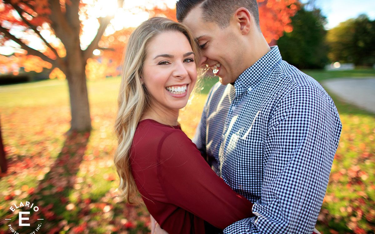 Kristina & Matt's Fall Engagement Photos